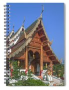 Wat Phuak Hong Phra Wihan Dthcm0581 Spiral Notebook
