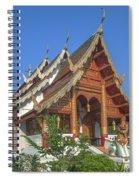 Wat Phuak Hong Phra Wihan Dthcm0582 Spiral Notebook