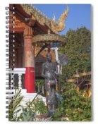 Wat Phuak Hong Phra Wihan Monk Figure Dthcm0579 Spiral Notebook