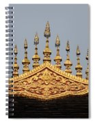 Wat Roof Detail Spiral Notebook