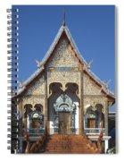 Wat Sri Don Chai Phra Wiharn Dthcm0084 Spiral Notebook