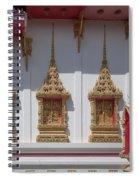 Wat Suwan Khiri Khet Ubosot Windows Dthp273 Spiral Notebook