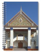 Wat Thewasunthon Preaching Hall Or Sala Kan Prien Dthb1422 Spiral Notebook