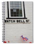 Watch Bell Street Rye Spiral Notebook