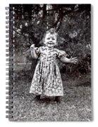 Watch Me Walk Spiral Notebook
