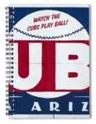 Watch The Cubs Spiral Notebook