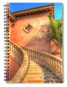 Watch Your Step And Welcome Spiral Notebook