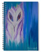 Watcher In The Blue Spiral Notebook