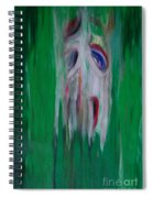 Watcher In The Green  Totem Series  Spiral Notebook