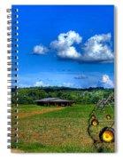Watchful Hawk 2 Spiral Notebook
