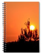 Watching The Sun Rise Spiral Notebook