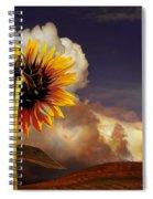 Watching The Sun Set Spiral Notebook