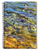 Water Abstract Spiral Notebook