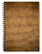 Water And Sand Background Spiral Notebook