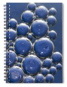 Water Bubbles Spiral Notebook