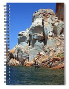Water Canyon II Spiral Notebook