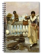 Water Carriers. Venice Spiral Notebook