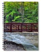 Water Cascade Spiral Notebook