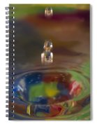 Water Drop Abstract 7 Spiral Notebook