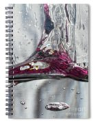 Water Drops Abstract3 Spiral Notebook