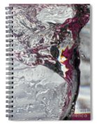 Water Drops Abstract4 Spiral Notebook