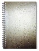 Water Drops Spiral Notebook