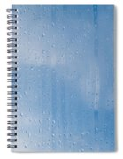 Abstract Of Condensation And Vapor Spiral Notebook