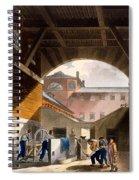 Water Engine, Coldbath Fields Prison Spiral Notebook