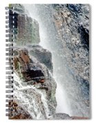 Water Fall Off Mt. Wilson Colorado Spiral Notebook