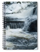 Water Fall On The River Spiral Notebook