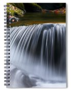 Water Falling Great Smoky Mountains Spiral Notebook