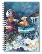 Water Fight Spiral Notebook