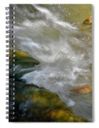 Water - Flow Of Life 1 Spiral Notebook
