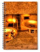 Water Fountains Spiral Notebook