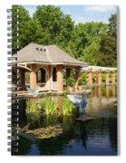 Water Garden Serenity Spiral Notebook
