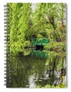 Water Garden Wonder Spiral Notebook