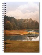 Water Gazebo Spiral Notebook