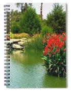 Water Hazard Santa Maria Country Club Spiral Notebook