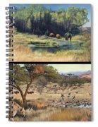 Water Hole Safari Spiral Notebook