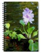 Water Hyacinth Float Spiral Notebook