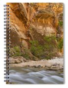 Water In The Narrows Spiral Notebook