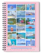 Water Island Poster Spiral Notebook