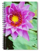 Water Lilies 003 Spiral Notebook