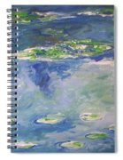Water Lilies Giverny Spiral Notebook