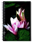 Water Lilies IIi Spiral Notebook