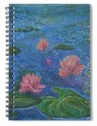 Water Lilies Lounge 2 Spiral Notebook