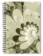 Water Lilies Spirals Spiral Notebook