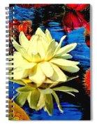 Water Lilly Pond Spiral Notebook