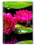 Water Lily 2014-12 Spiral Notebook