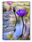 Water Lily 6 Spiral Notebook